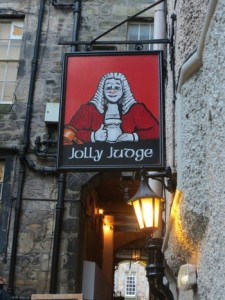 The Jolly judge Edimbrugo