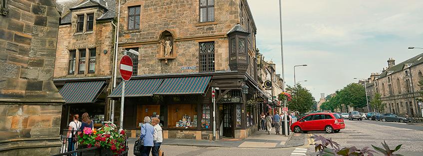 Centro storico di Saint Andrews