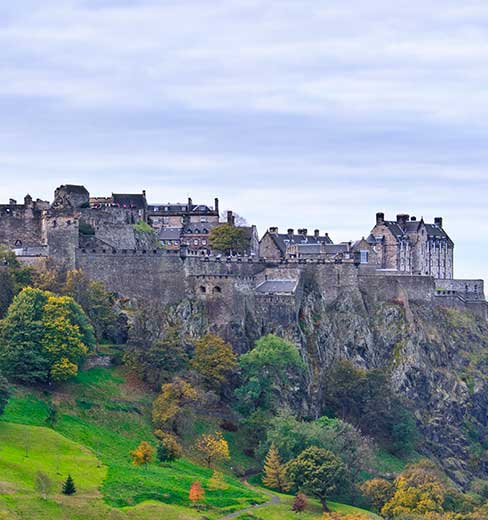tour castello di Edimburgo