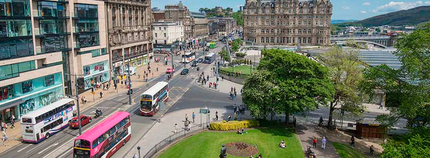 Transporte público de Edimburgo