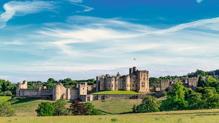 Castello di Alnwick, vicino a Newcastle (Inghilterra)