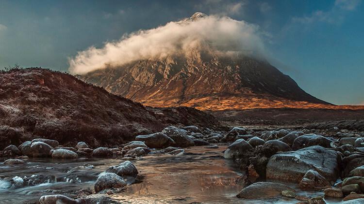 Vista della Valle di Glencoe (Highlands)